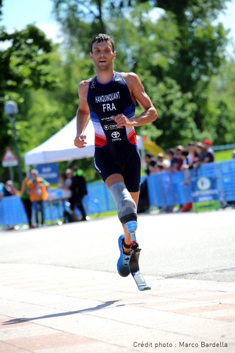 Alexis HANQUINQUANT, triathlète professionnel