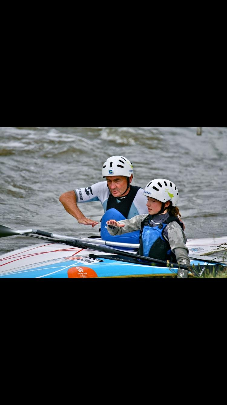 Camille PRIGENT, kayak slalom