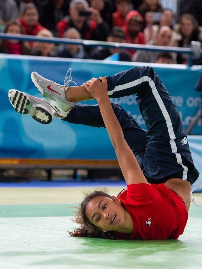 Carlota DUDEK, breakdance