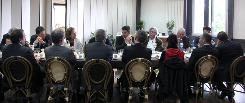 Déjeuner organisé au Centre Pénitentiaire de Fresnes