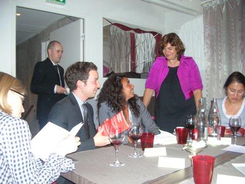 Dîner organisé au restaurant Tante Marguerite - 30 juin 2011