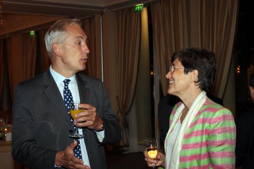 François Drouin, Christine Fontanet