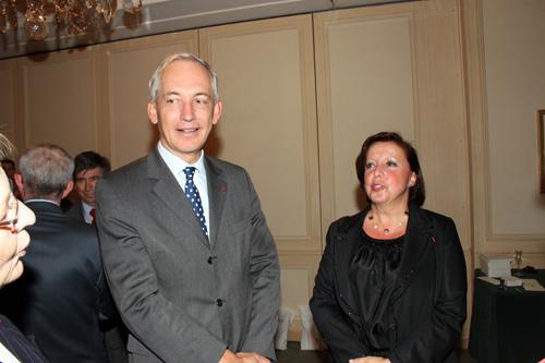 François Drouin, Agnès Bricard