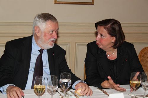 Yves Coppens, Agnes Bricard