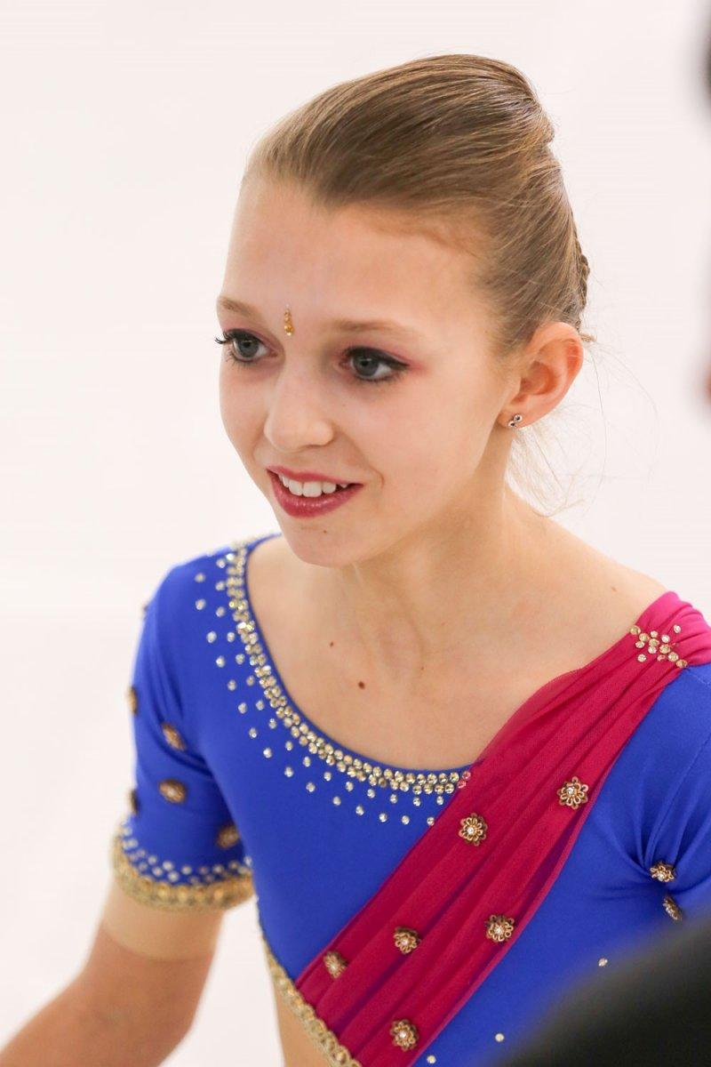 Emie LEFEBVRE, patinage sur glace