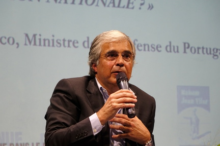 José Pedro AGUIAR BRANCO, Ministre de la Défense du Portugal