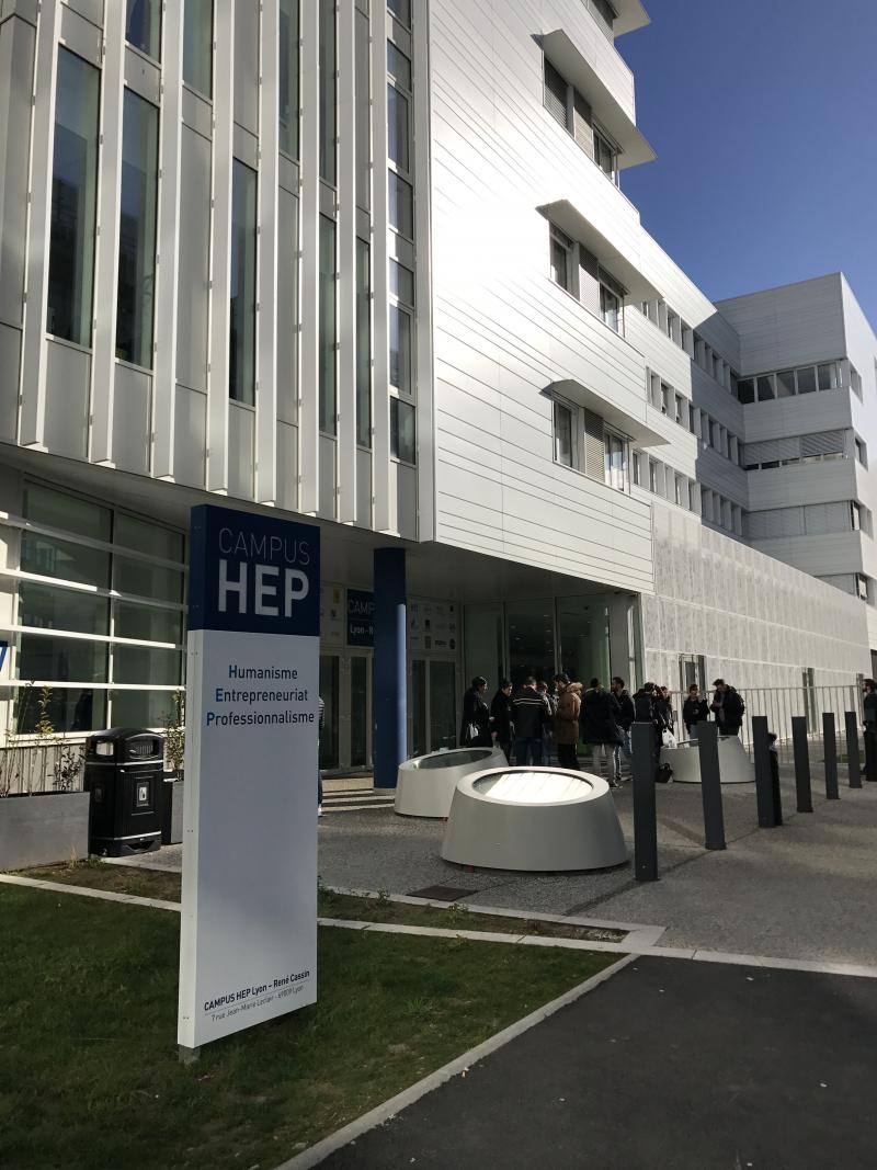 Nouveau Campus HEP Lyon-René Cassin