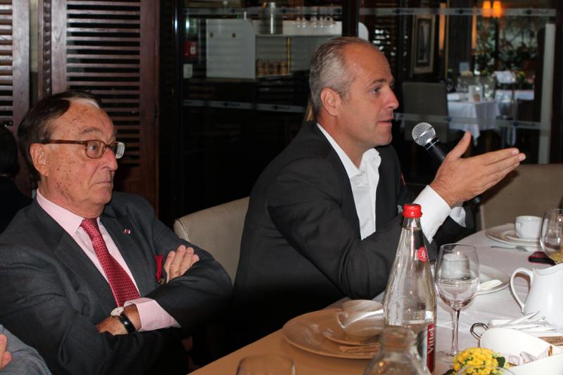Petit déjeuner du Club de l'Audace avec Didier SICARD
