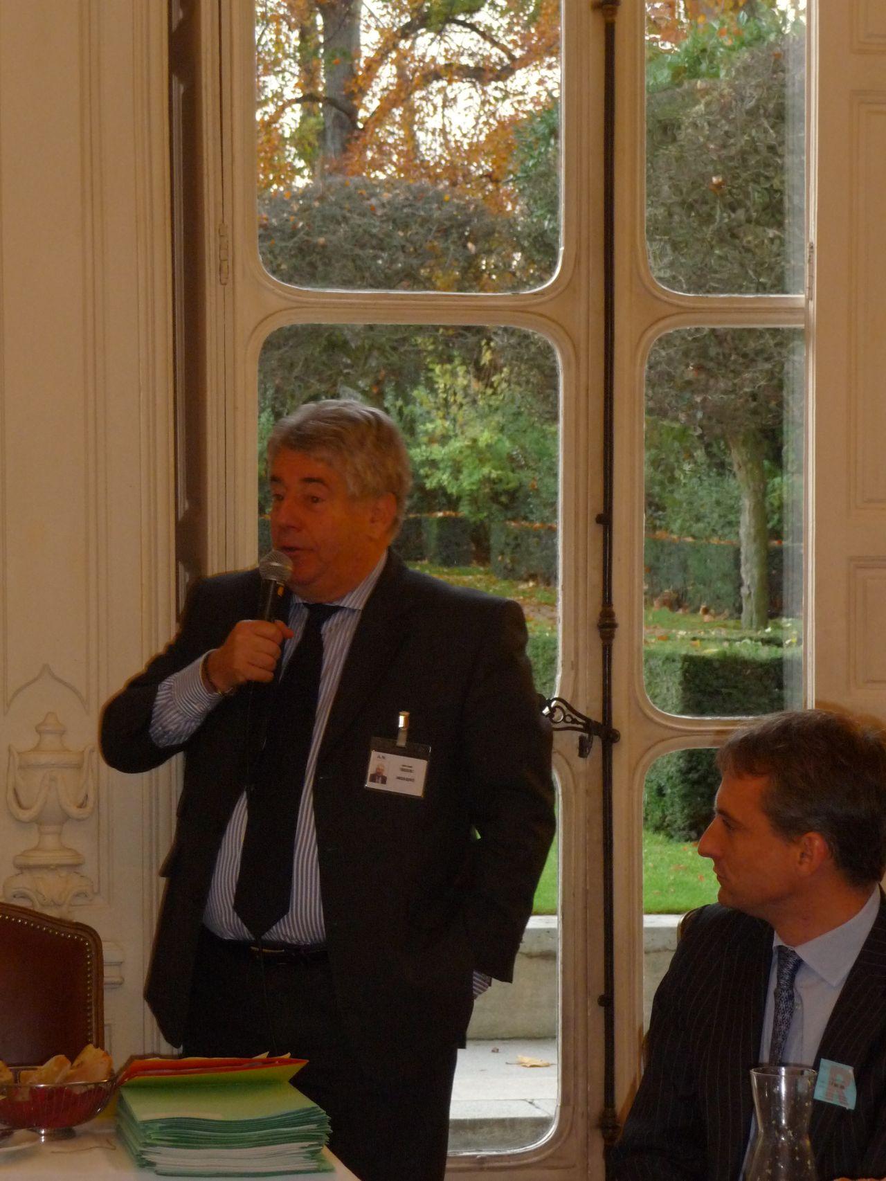 Petit déjeuner du Club de l'Audace avec Jean-Louis Fousseret