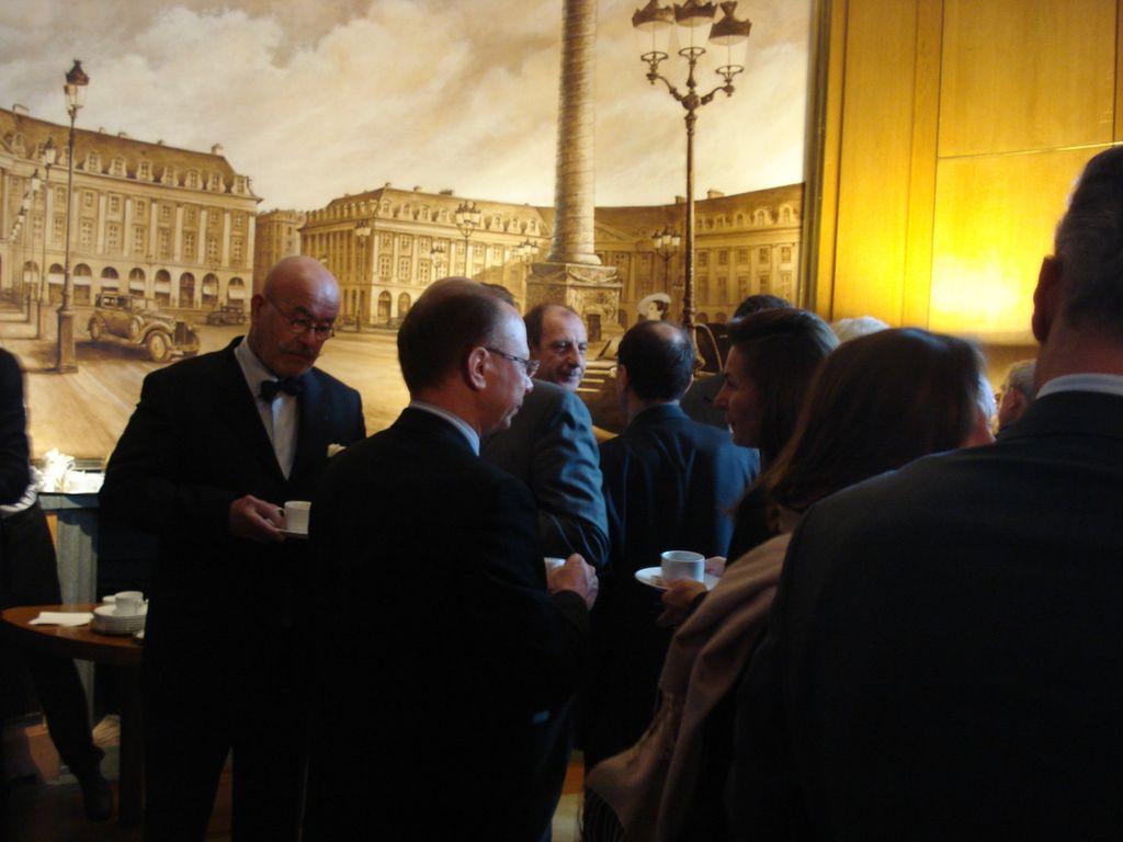 Petit déjeuner du Club de l'Audace avec Philippe Bilger