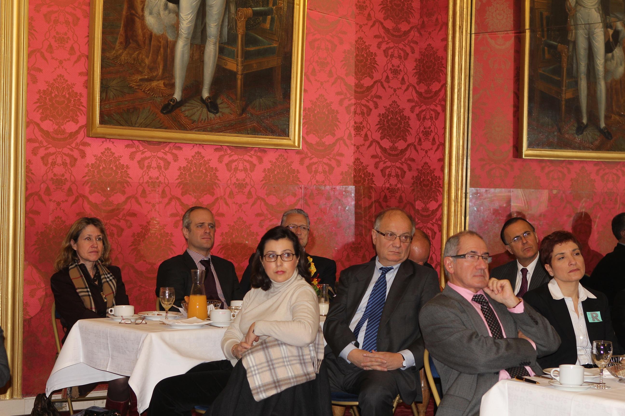 Petit déjeuner du Club de l'Audace avec Hervé Novelli
