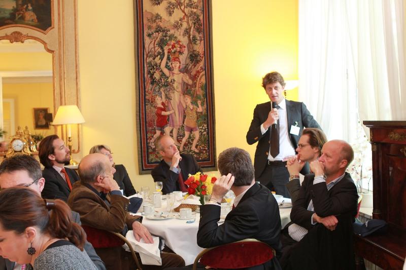 Petit déjeuner du Club de l'Audace avec Jean-Claude Volot