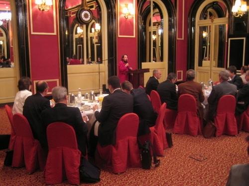 Petit déjeuner du Club de l'Audace avec Agnès Arcier
