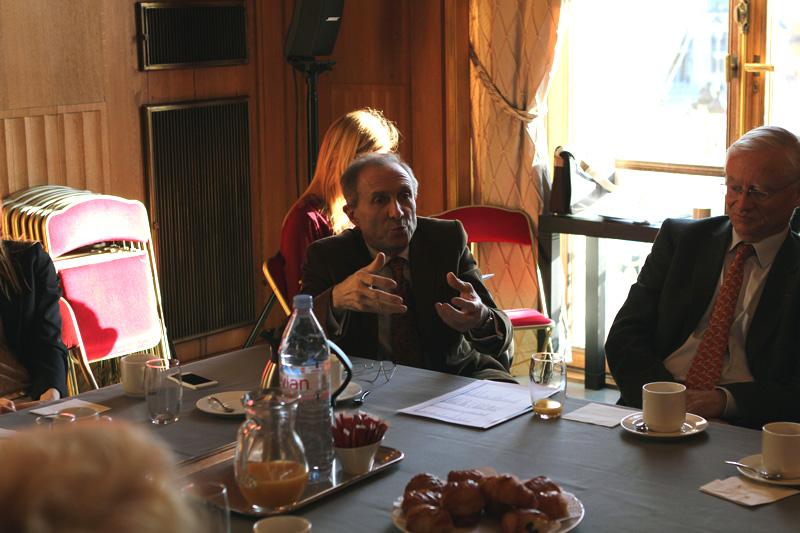 Petit-déjeuner du Club de l'Audace avec Bruno LAFONT