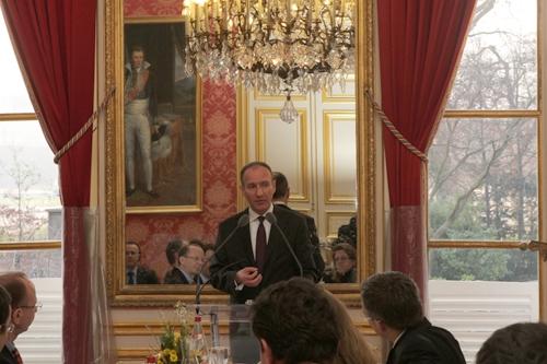 Petit déjeuner du Club de l'Audace avec Olivier Buquen