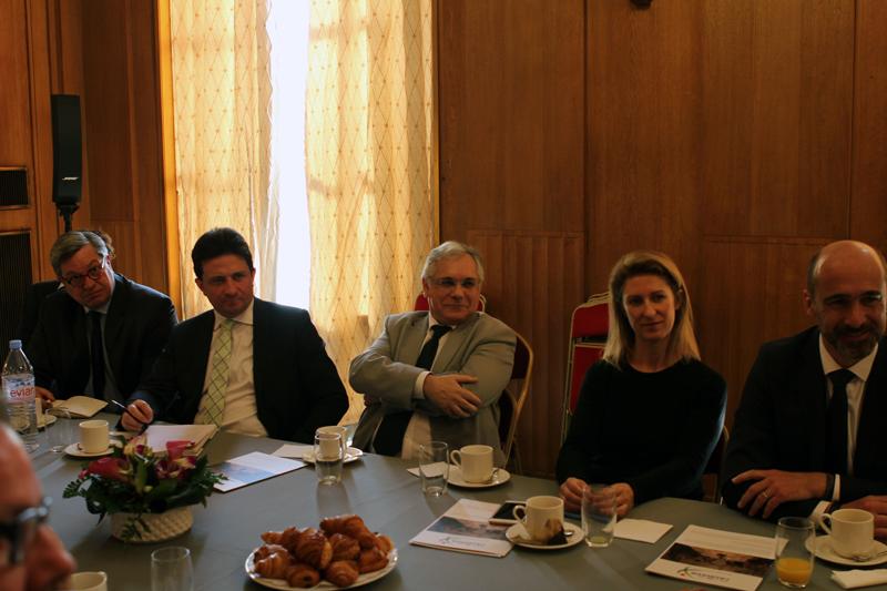 Petit-déjeuner du Club de l'Audace avec Nicolas LESUR