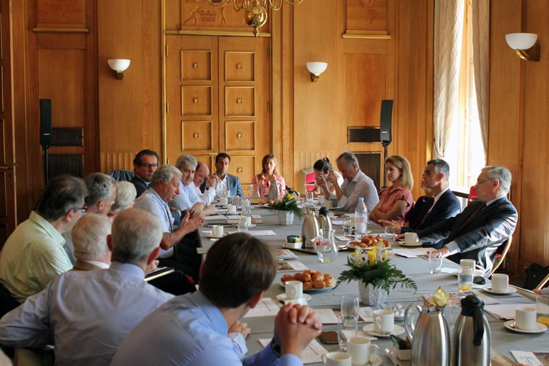 Petit-déjeuner du Club de l'Audace avec Daniel HARARI