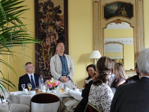 Petit déjeuner du Club de l'Audace avec Frank Garnier