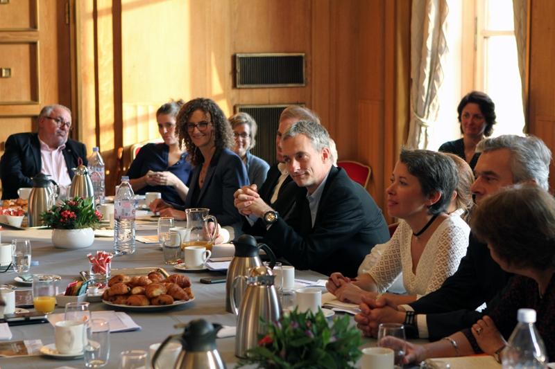 Petit-déjeuner du Club de l'Audace avec Mercedes ERRA