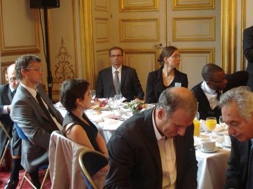 Petit déjeuner du Club de l'Audace avec Philippe Lentschener