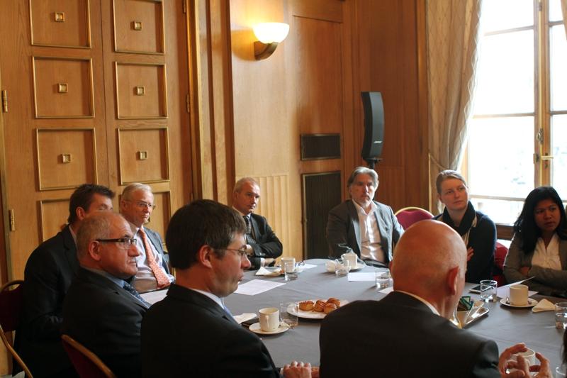 Petit-déjeuner du Club de l'Audace avec le Général Bertrand SOUBELET