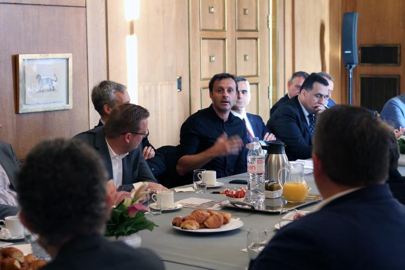 Petit-déjeuner du Club de l'Audace avec Thierry PETIT