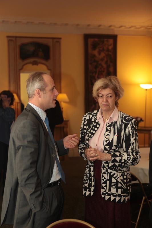 David Brunat et Vivianne Neiter