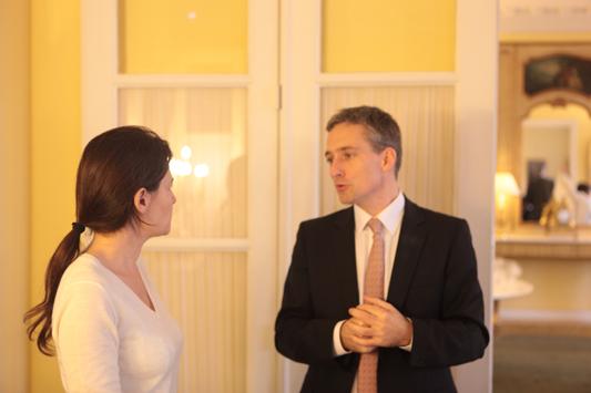 Emmanuelle Muhlenhover, Thomas Legrain