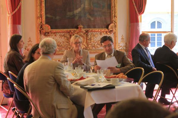 Petit déjeuner du Club de l'Audace avec Marcel Botton