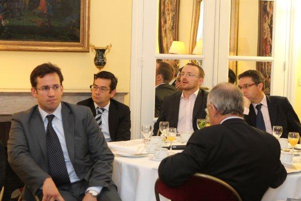 Petit déjeuner du Club de l'Audace avec Axel Dauchez