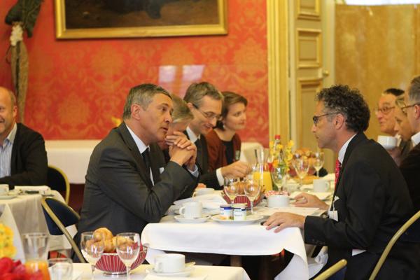 Petit déjeuner du Club de l'Audace avec Christian Noyer