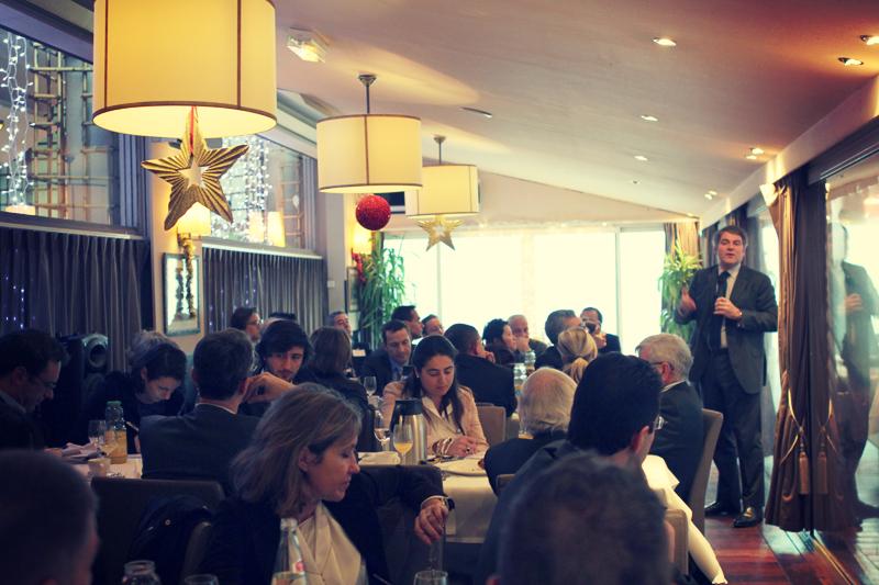 Petit déjeuner du Club de l'Audace du 12 décembre 2013