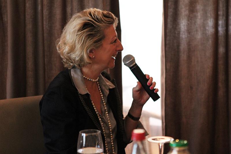 Petit déjeuner du Club de l'Audace avec Hervé Morin