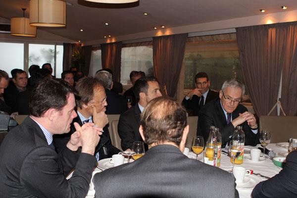 Petit déjeuner avec Jean-Bernard LEVY