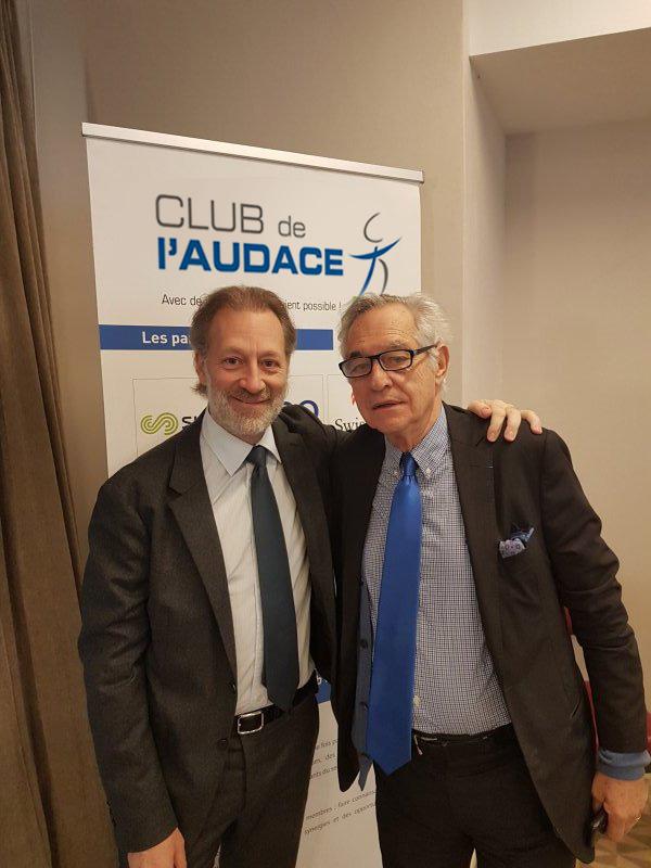 Jean-Claude LE GRAND, groupe L'Oréal et Roger SERRE, groupe IGS