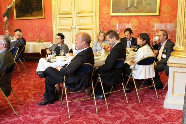 Petit déjeuner du Club de l'Audace avec Philippe Douste-Blazy