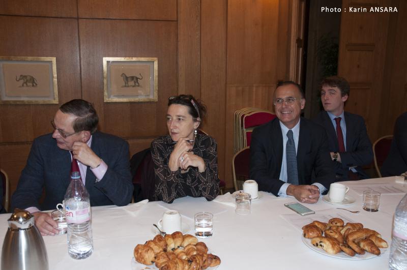 Petit-déjeuner avec Son Excellence Sir Peter RICKETTS
