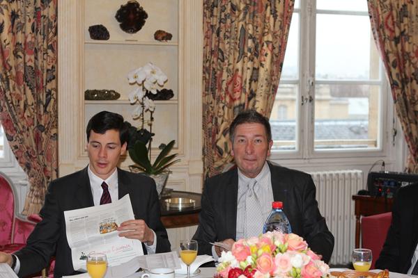 Petit déjeuner du Club de l'Audace avec Xavier Beulin