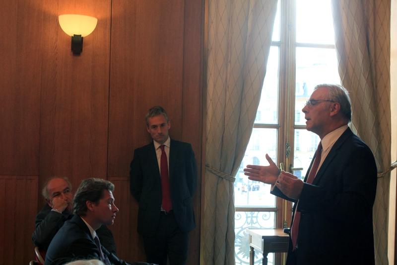 Petit-déjeuner du Club de l'Audace avec François CORNUT-GENTILLE