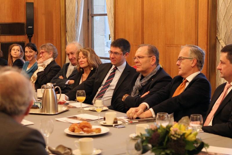 Petit-déjeuner du Club de l'Audace avec Jean-Christophe FROMANTIN