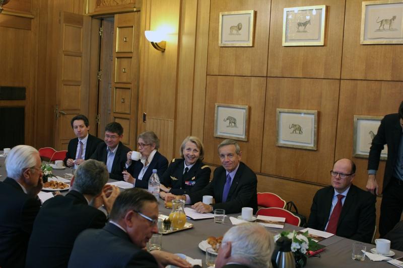 Petit-déjeuner du Club de l'Audace avec le général d'armée aérienne (2s) Jean-Paul PALOMEROS