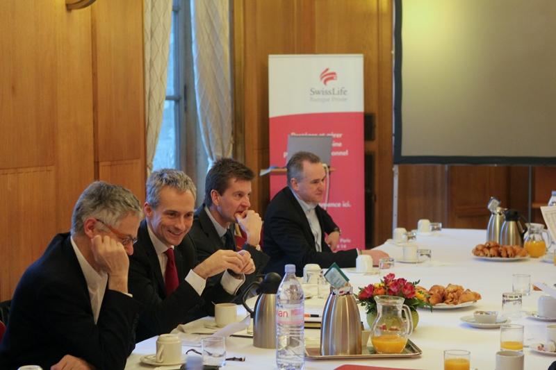 Petit-déjeuner du Club de l'Audace avec Olivier LEGRAIN