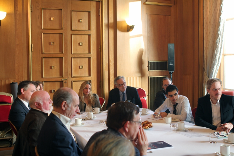 IPetit-déjeuner du Club de l'Audace avec Olivier LEGRAIN