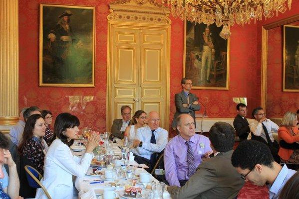 Petit déjeuner avec Jean-Louis GUIGOU