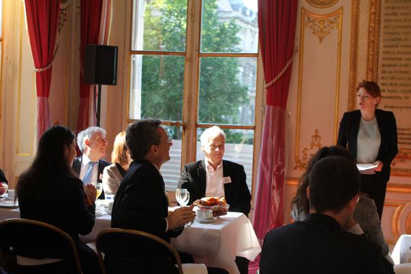 Petit déjeuner du Club de l'Audace avec Muriel Mayette