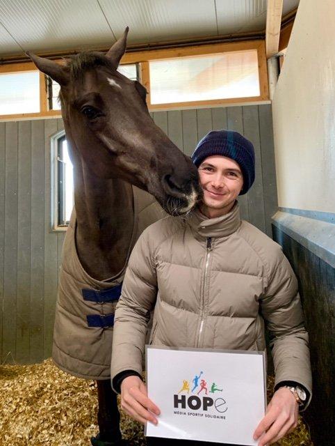 Victor LEVECQUE, équitation
