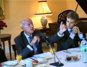14 octobre 2009 : petit-déjeuner du Club de l'Audace à l'Assemblée Nationale avec Thierry SAUSSEZ, délégué interministériel à la communication