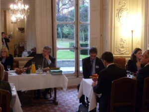 18 novembre 2009 : petit-déjeuner du Club de l'Audace au Sénat avec Jean-Louis FOUSSERET, maire de Besançon
