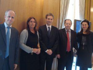 12 mai 2010 : petit-déjeuner du Club de l'Audace avec Philippe BILGER, avocat général près de la cour d'appel de Paris