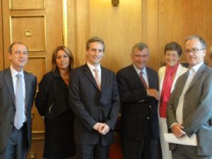 8 septembre 2010 : petit-déjeuner du Club de l'Audace avec Xavier FONTANET, président d'Essilor